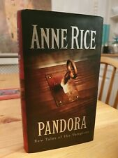 1998 First Edition Anne Rice Pandora