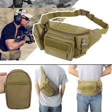 Tactical Bag Waterproof Waist Fanny Pack Hiking Fishing Sports Hunting Bag Belt