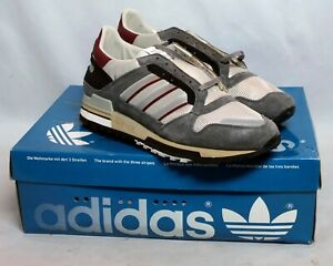 Adidas ZX 600 ZX600 Vintage Genuine Shoes 051308 24 SU 06 9.5 Made in France