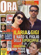 Ora 2016 11#Gigi Buffon & Ilaria D'Amico,Zucchero Fornaciari,Raffaele Paganini,q