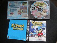 Klonoa: Door to Phantomile (Sony PlayStation 1, 1997) Complete