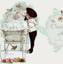Shabby Vtg Chic Birds Baby Reborn Mobile Friendly Ebay Listing Auction Template