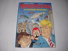 MARTIN MYSTERE LE MACCHINE IMPOSSIBILI 1995 GADGET EDIZIONI CIOE' RARO!!!!