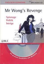 Englisch Lernkrimi + Mr. Wong's Revenge + plus MP3 Audio CD + Lesen + Hören