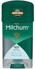 PACK OF 2 Mitchum Power Gel Anti-Perspirant Deodorant Unscented 2.25 oz