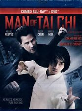 BRAND NEW BLU-RAY+ DVD // MAN OF TAI CHI // KEANU REEVES , TIGER CHEN, KAREN MOK