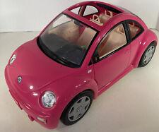 More details for barbie vw volkswagen beetle pink barbie car