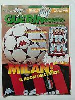 GUERIN SPORTIVO 36-1988 MILAN BONIEK ZAVAROV ITALIA OLIMPICA CARLIN'S BOYS TITA