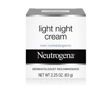 Neutrogena Light Facial Night Cream, 2.25 Oz. (Damaged Box)