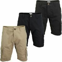 Mens Canvas Cargo Shorts by Xact