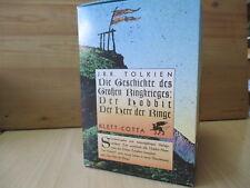 Tolkien DIE GESCHICHTE DES GROSSEN RINGKRIEGES - 7 Bände Herr der Ringe /Hobbit