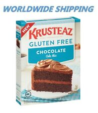 Krusteaz Gluten Free Chocolate Cake Mix 20 Oz WORLDWIDE SHIPPING