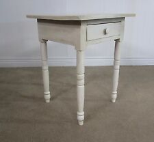 Antique Nightstand, 19Th Century End Table, Professionally Painted