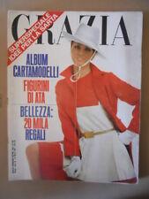 GRAZIA Rivista di moda n°1361 1967 con album Figurini  G64  d3156b3e96b