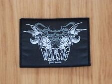 DANZIG - TRIBAL SKULL (NEW) SEW ON PATCH OFFICIAL BAND MERCH