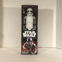 """Star Wars The Force Awakens STORMTROOPER 12"""" Action Figure, Hasbro NEW IN BOX"""
