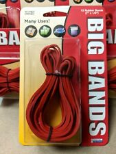 Alliance Big Giant Rubber Bands Red Lot Of 20 Packs Usa 240 Pieces 7 X 18