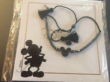 New listing Disney Mickey Mouse Bracelet-Keep Collective Pulley Pave Hematite Bracelet-New