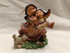 """Vtg Enesco 876682 Friends of the Feather """"Armed with Joy""""by Karen Hahn 2001;Nwob"""
