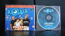 Aqua - Lollipop (Candyman) 9 Track CD Single Incl Video