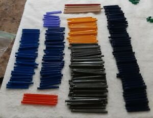 """353 KNEX Mixed Rods 2.25"""" Blue  3 7/16"""" Yellow  5 1/8"""" Replacement Pieces K'NEX"""