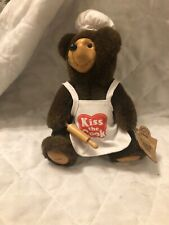 Raikes Bears Kiss the Cook 1994 With Tag Limited Edition 3414/5000