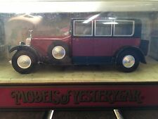 "Rolls Royce Phantom 1"" 1925 Matchbox Diecast Model scale 1:45 from 1990"