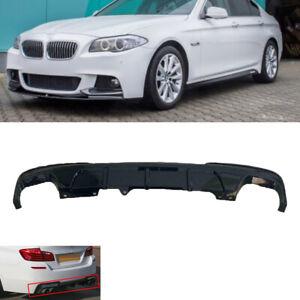 Fit BMW 5 series F10 F11 M sport ,performance rear bumper diffuser skirt valence