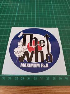 THE WHO  DECAL / STICKER, ,Vespa, Quadrophenia, Scooter