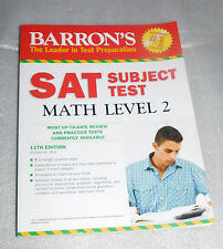 Barrons SAT Subject Test Math Level 2 11th Edition 2014 PB Richard Ku Study