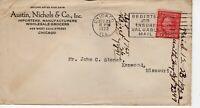 AUSTIN, NICHOLS & CO WHOLESALE GROCERS,  CHICAGO, ILLINOIS  1922  FDC8840