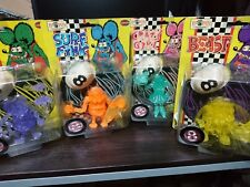 Rat fink Ed Roth mooneyes Figure set of 4 Super RARE statue doll Hot Rod z1