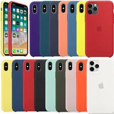 Original Silicone Genuine Case Cover For iPhone 6 6S 7 8 Plus XR XS X 11 Pro Max