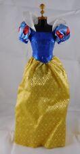 Disney Princess Snow White Replacement Sparkly Doll Sz Gown Dress