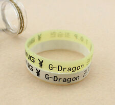 G-Dragon GD Big Bang GD&TOP KPOP Supporter WRISTBAND BRACELET X2 Y2451