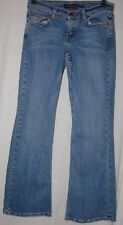 Aeropostale Low Stretch Flare Denim Blue Jeans 3 4 Small Pants