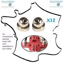 Kit de 12 rotules magnetique M4 pour imprimante 3D delta mini kossel