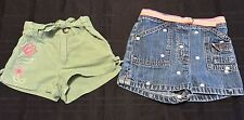 Lot Of 2 Toddler Girl Nickelodeon and Gymboree Shorts Size 2T