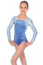 Vêtements de sport justaucorps bleu pour fille de 2 à 16 ans