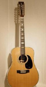 YAMAKI Acoustic Guitar YM-1000-12 #10525