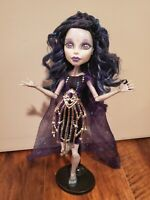 Monster High Elle Eedee Boo York Doll - Custom Curled and Styled Hair!