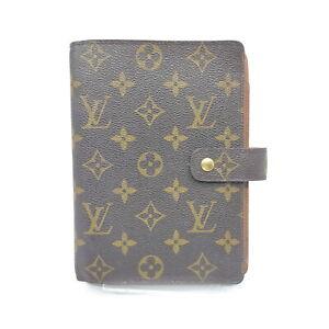 Louis Vuitton LV Diary Cover Agenda MMR20004 Browns Monogram 2002120