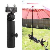 UNIVERSAL ADJUSTABLE ANGLE UMBRELLA HOLDER GOLF TROLLEY CART STAND ACCESSORIES