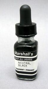 Marshall's Spot-All neutral black print retouching liquid.
