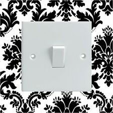 Black & White Pattern Electrical Light Switch Surround Printed Vinyl Sticker