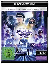 Ready Player One 4K Ultra HD + 2D Blu-ray NEU OVP Vorbestellung
