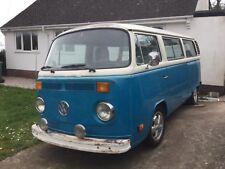 VW T2 bay window camper microbus van
