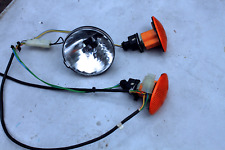 Set of Scooter Indicators & Head Light from a Booster Transportable