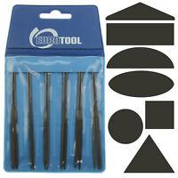 Mini 4'' Needle File Set 12pc Cut 2 Jewelry Tool Metal Crafting Square Round