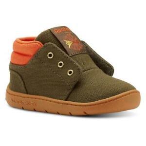 Reebok Ventureflex slip-on Casual GREEN Shoe sneakers toddler kids boy girl GIFT